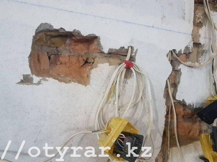 Особняк Тохтара Тулешова на улице Бекет батыра