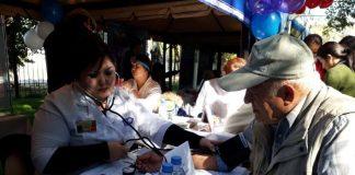 День пожилых в Центральном парке