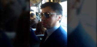 """Как Габидулла Абдрахимов """"давился"""" в переполненном автобусе Шымкента"""