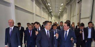 Первый заместитель Премьер-Министра РК А.Мамин прибыл с рабочей поездкой в Южно-Казахстанскую область