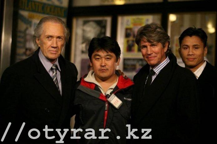 Режиссер из Америки снимает кино в Казахстане