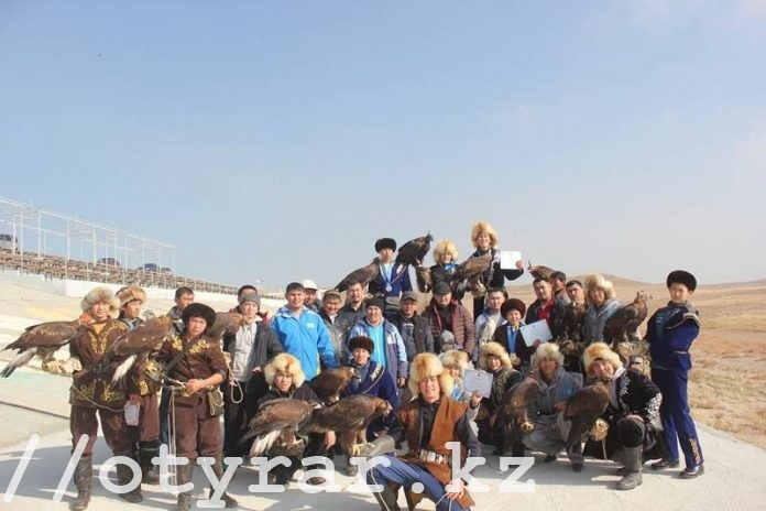Молодые беркутчи Южного Казахстана лидировали в чемпионате страны