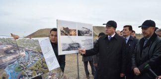 Аким ЮКО ознакомился с археологическими раскопками на территории «Старого города»