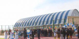 В Созакском районе открыта футбольная площадка