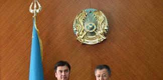 Аким ЮКО пожелал успехов Габидулле Абдрахимову на новой должности