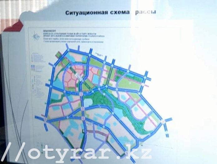 Текущий проект реконструкции Старого города