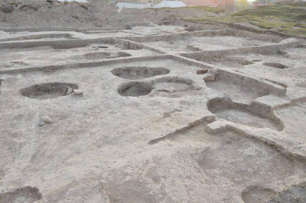 Археологические раскопки на территории «Старого города»