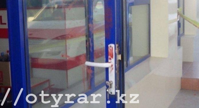 В Сарыагашском районе ограбили АЗС