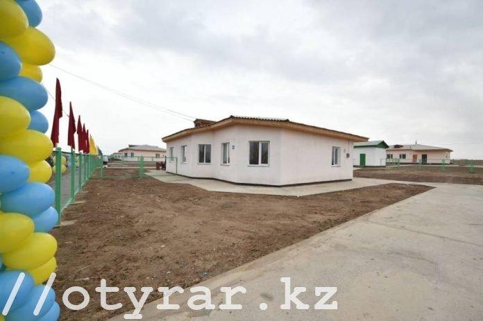 Дома по госпрограмме в селе Темирлан