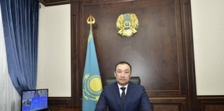 Новый аким Шымкента Нурлан Сауранбаев