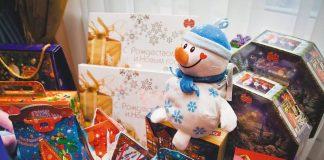 Новогодние подарки в школах