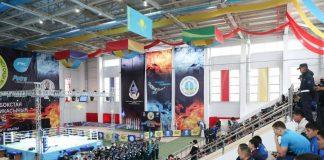 В Шымкенте открылся юбилейный 25-й чемпионат Казахстана по боксу среди мужчин