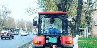 Снегоуборочная техника в Шымкенте