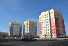 Новые дома в Шымкенте