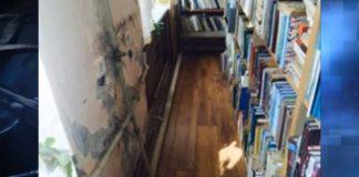 Состояние библиотекы Абая в Шымкенте в плачевном состоянии