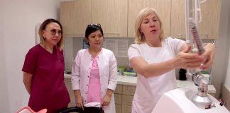 В клинике доктора Мауриньша мастер-классы проводят рижские специалисты