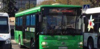 Автобусы с Шымкентскими номерами в Алматы