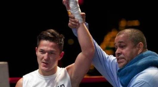 Димаш Ниязов выиграл бой