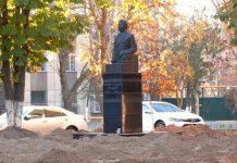 Ремонт в сквере Асанбая Аскарова