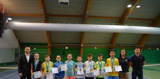 В Астане определились чемпионы Казахстана по большому теннису до 12 лет