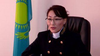 Майра Калмурзаева, судья