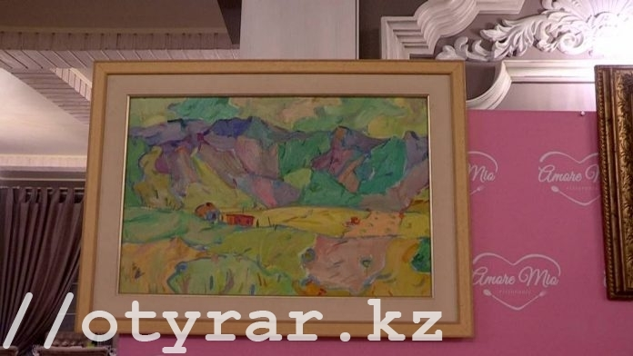 Дочь знаменитого художника готова подарить картины отца Шымкенту