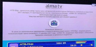 Вещание российских каналов