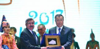 Туркестан передал символы тюркской столицы Турции