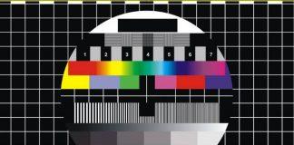 Пустой экран телевизора