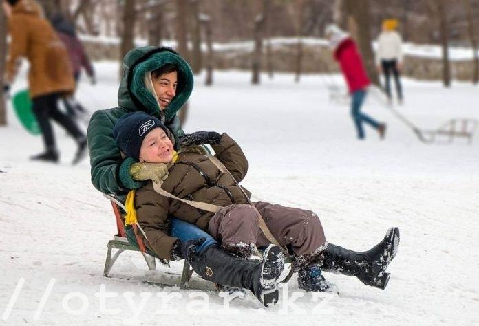 Зимние каникулы в школах Шымкента
