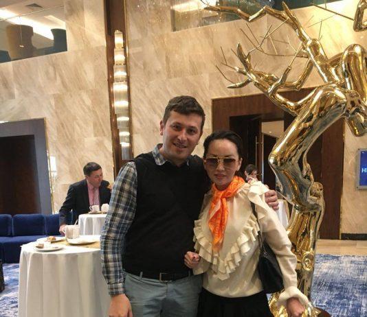 Шуддин Саидов и Баян Алагузова