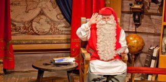 Санта Клаус из Лапландии поздравил маленьких казахстанцев с Новым годом