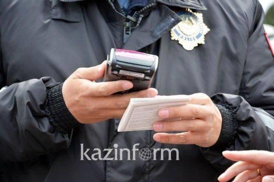 В Казахстане для водителей снизили штрафы