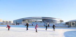 На ЭКСПО заработал самый большой ледовый каток