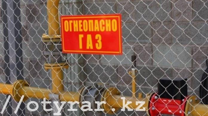 Из-за ДТП шымкентцы сидят без газа