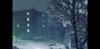 Снежный декабрь в Шымкенте