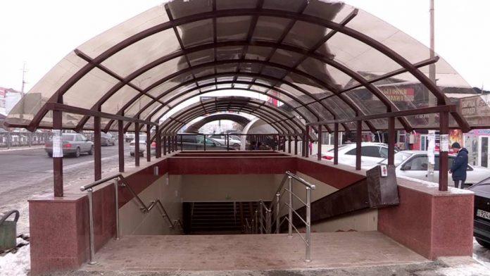 Подземный переход на Самале
