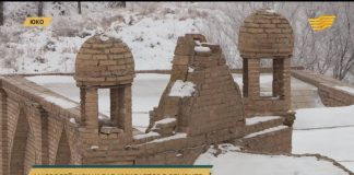 Мавзолей Ыскак баб в ЮКО находится в плачевном состоянии