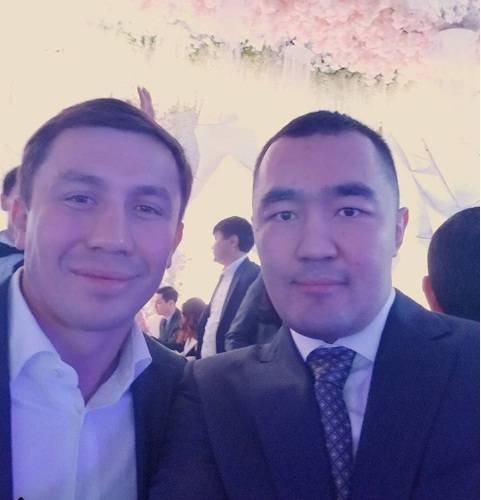 Бейбут Шуменов и Геннадий Головкин