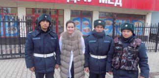 В Шымкенте гвардейцы спасли жизнь беременной женщине