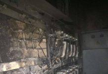 Сгорели щиты электроподачи