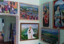 Уникальные картины в сельском музее