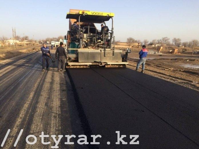 Строительство дорог в ЮКО