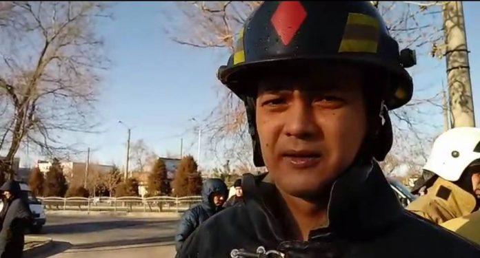 Подпокловник Сапаев прокомментировал пожар