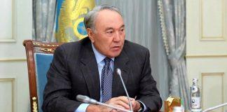 Нурсултан Назарбаев отправил телеграмму Шавкату Мирзиёеву