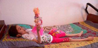 """болезнь заставляет """"таять"""" 10-летнюю девочку из ЮКО"""