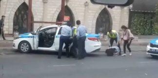 Девушка «которую ударил полицейский»
