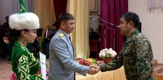 Внутренние войска Национальной гвардии РК отмечают 26-летие