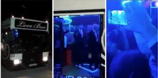 Автобус для тоев с танцполом и баром появился в Шымкенте