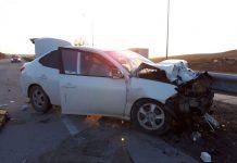 Пассажир легкового авто погиб на месте